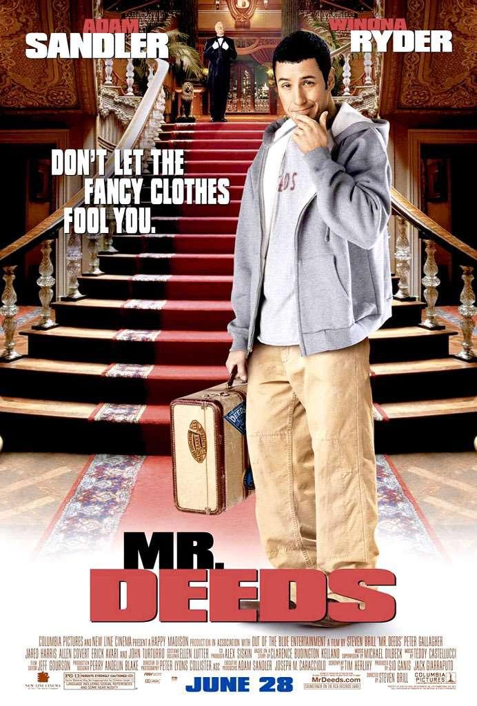 凸槌大亨_Mr. Deeds_電影海報