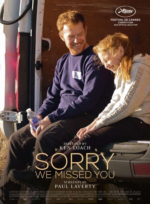 抱歉我們錯過你了_Sorry We Missed You_電影海報