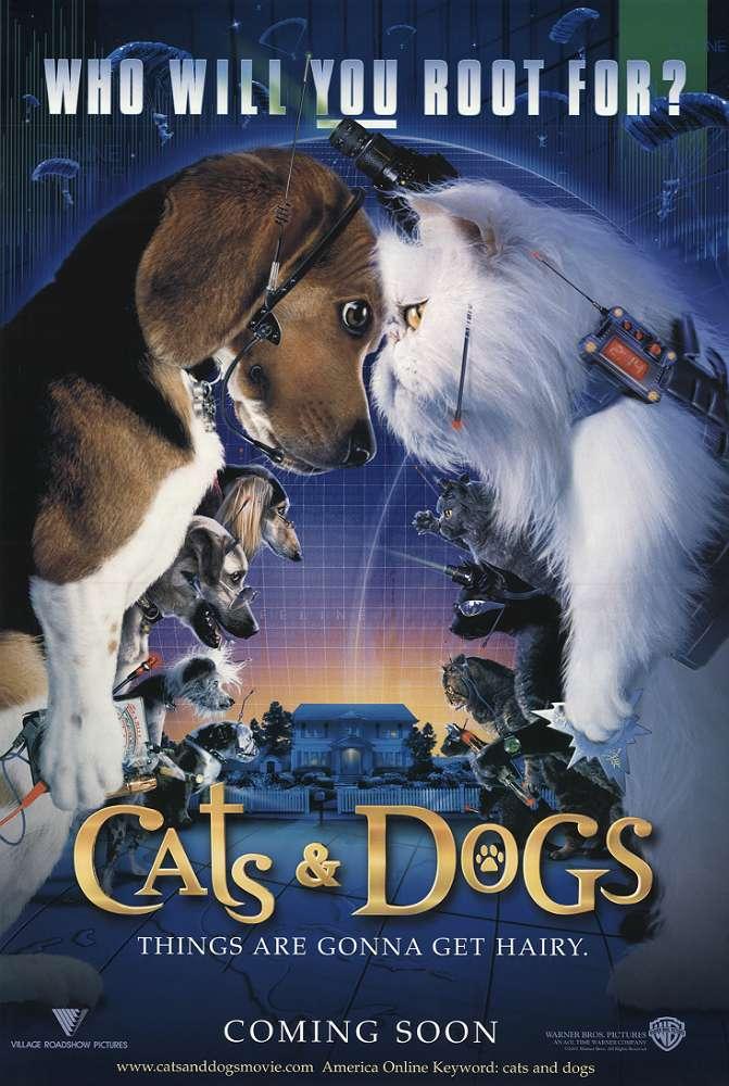 貓狗大戰_Cats & Dogs_電影海報