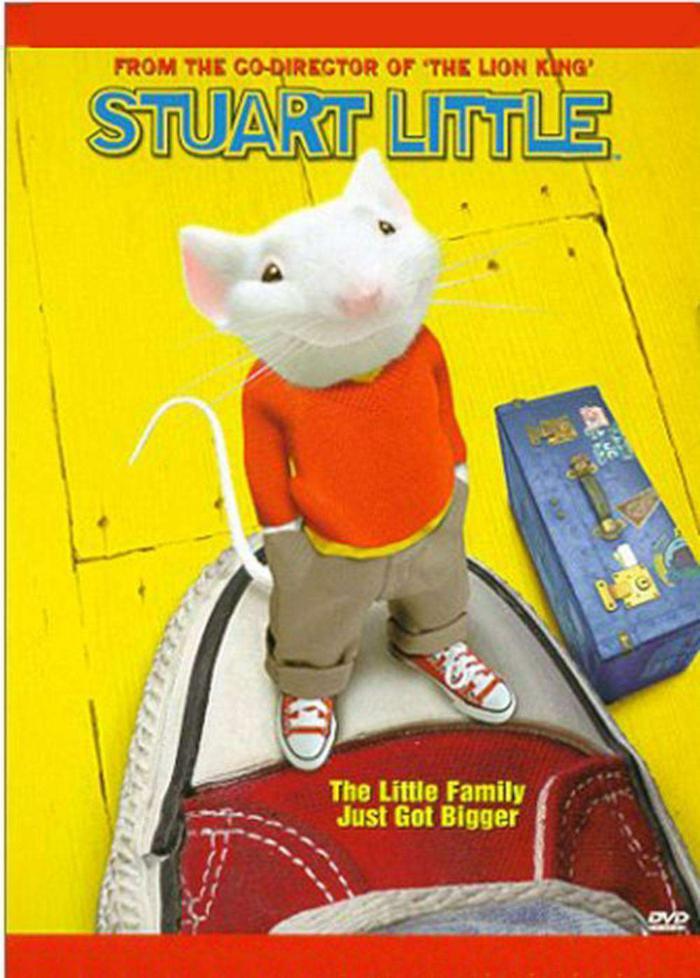 一家之鼠_Stuart Little_電影海報