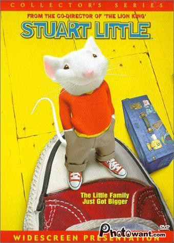 一家之鼠_Stuart Little_電影海報