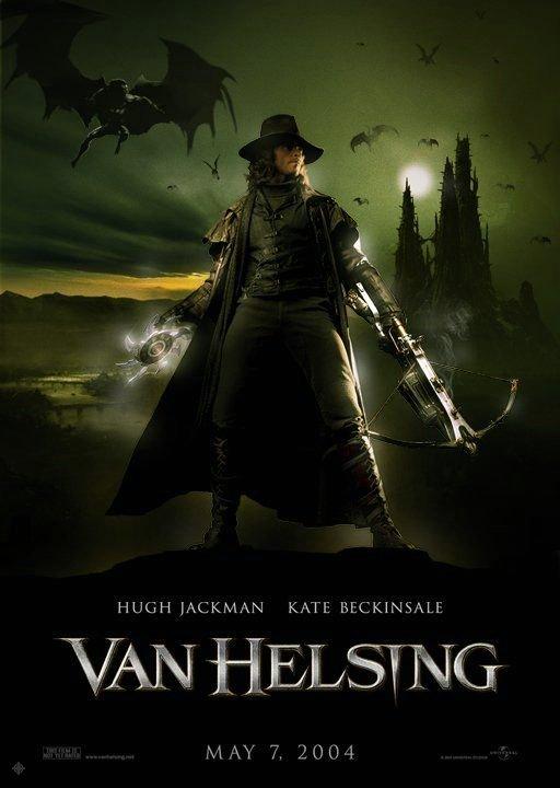 凡赫辛_Van Helsing_電影海報