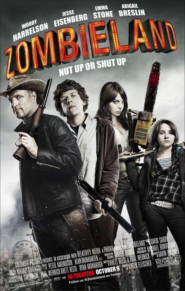 屍樂園_Zombieland_電影海報