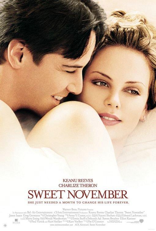 甜蜜的十一月_Sweet November_電影海報