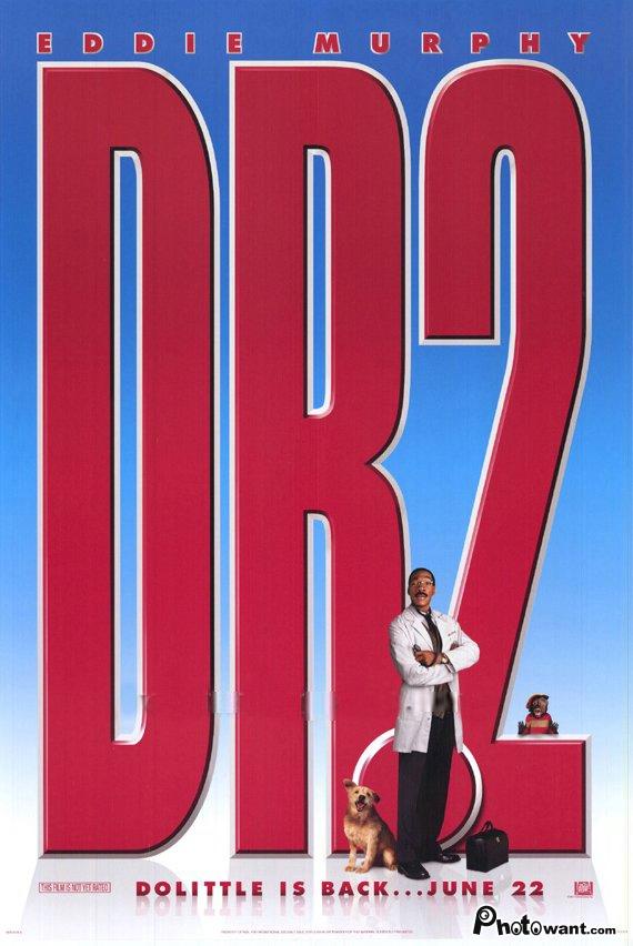 怪醫杜立德2_Dr. Dolittle 2_電影海報