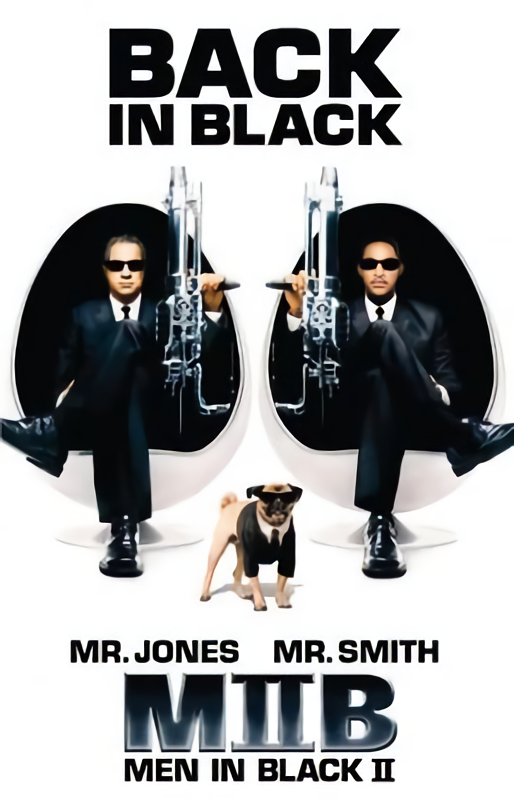 MIB星際戰警2_Men In Black 2_電影海報