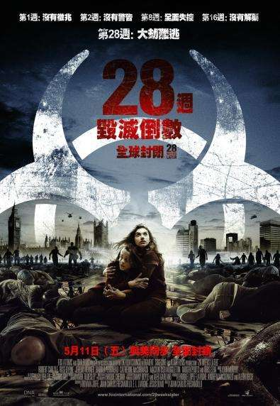 28週毀滅倒數:全球封閉_28 Weeks Later_電影海報