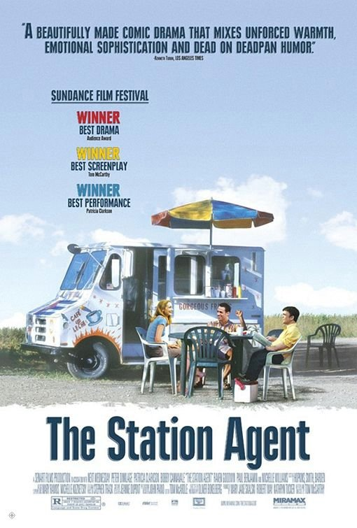 下一站,幸福_The Station Agent_電影海報