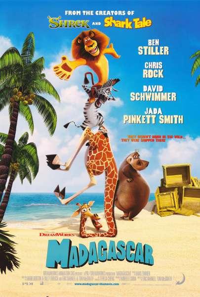 馬達加斯加_Madagascar_電影海報