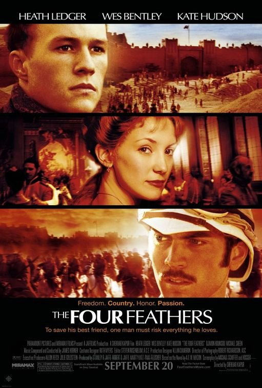 關鍵時刻_The Four Feathers_電影海報
