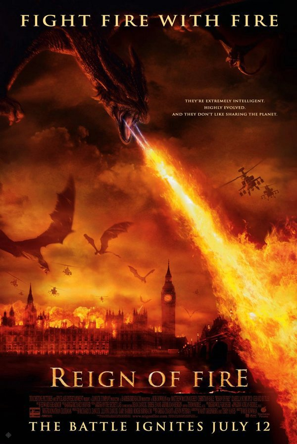 火焰末日_Reign of Fire_電影海報