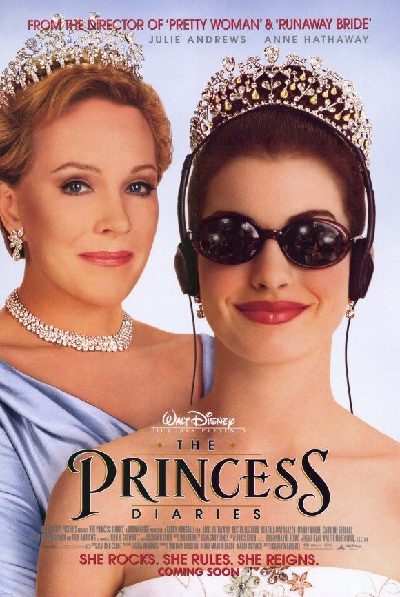 麻雀變公主_The Princess Diaries_電影海報