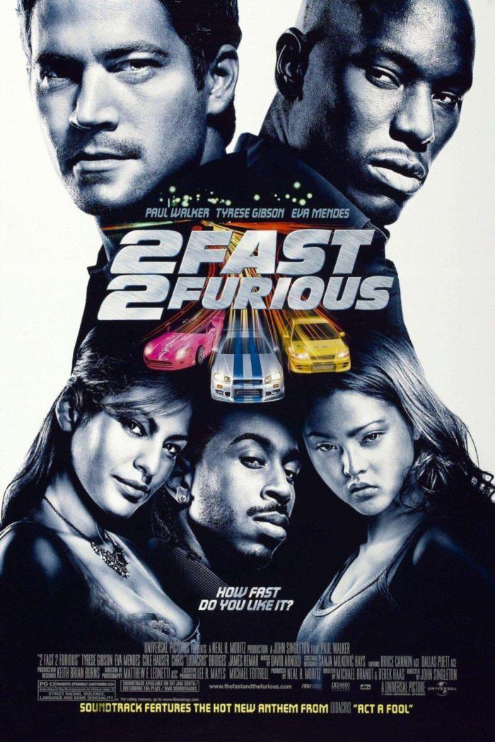 玩命關頭2:飆風再起_2 Fast 2 Furious_電影海報