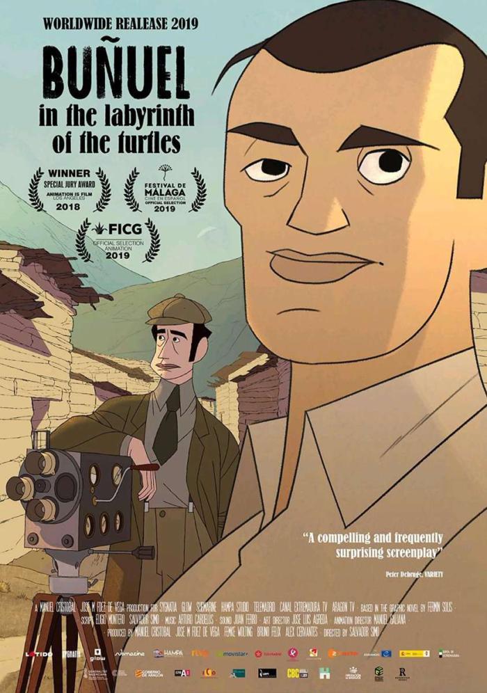 布紐爾超現實人生_Buñuel in the Labyrinth of the Turtles_電影海報