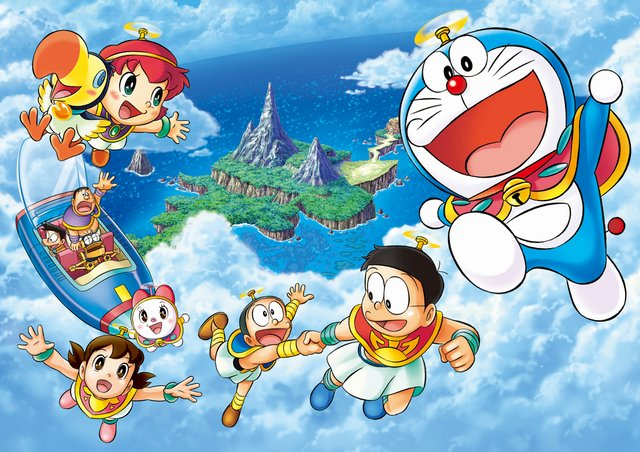 哆啦A夢:大雄與奇跡之島_Doraemon the Movie: Nobita and the Island of Miracle_電影劇照