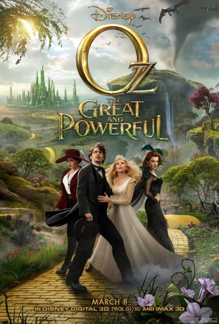 奧茲大帝_Oz: The Great and Powerful_電影海報
