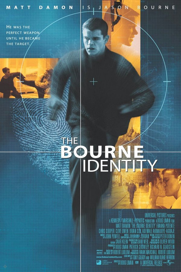 神鬼認證_The Bourne Identity_電影海報