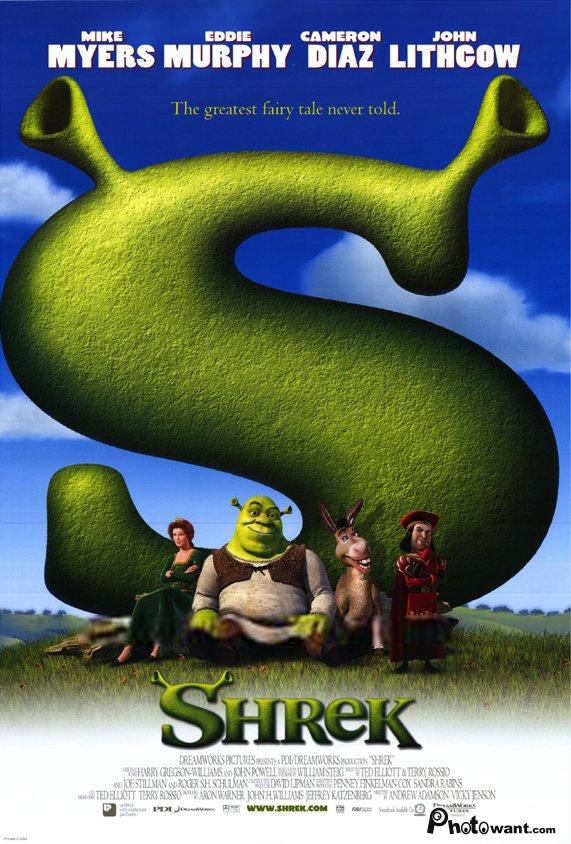 史瑞克_Shrek_電影海報