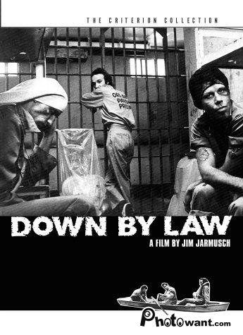 不法之徒_Down by Law_電影海報