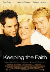 相信愛情_Keeping The Faith_電影海報