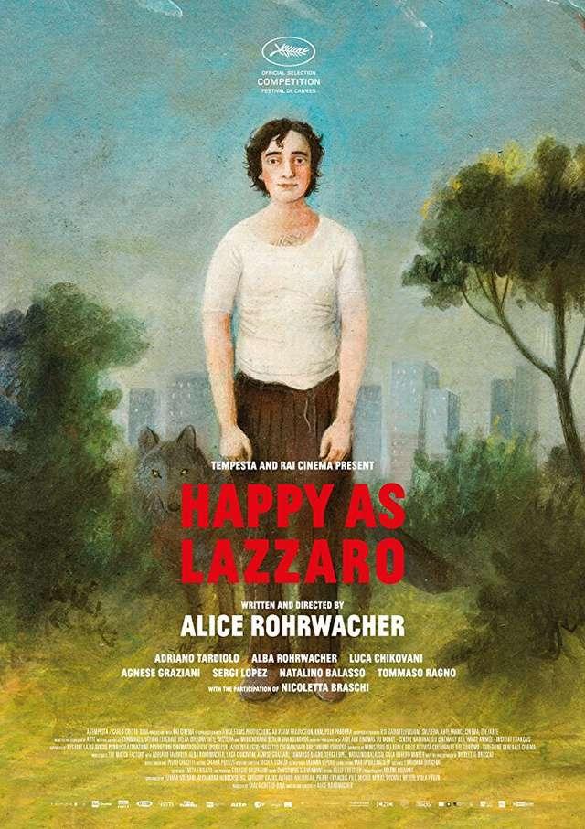 幸福的拉札洛_Happy as Lazzaro_電影海報