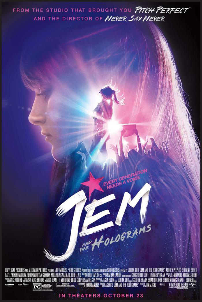 芙蓉仙子_Jem and the Holograms_電影海報