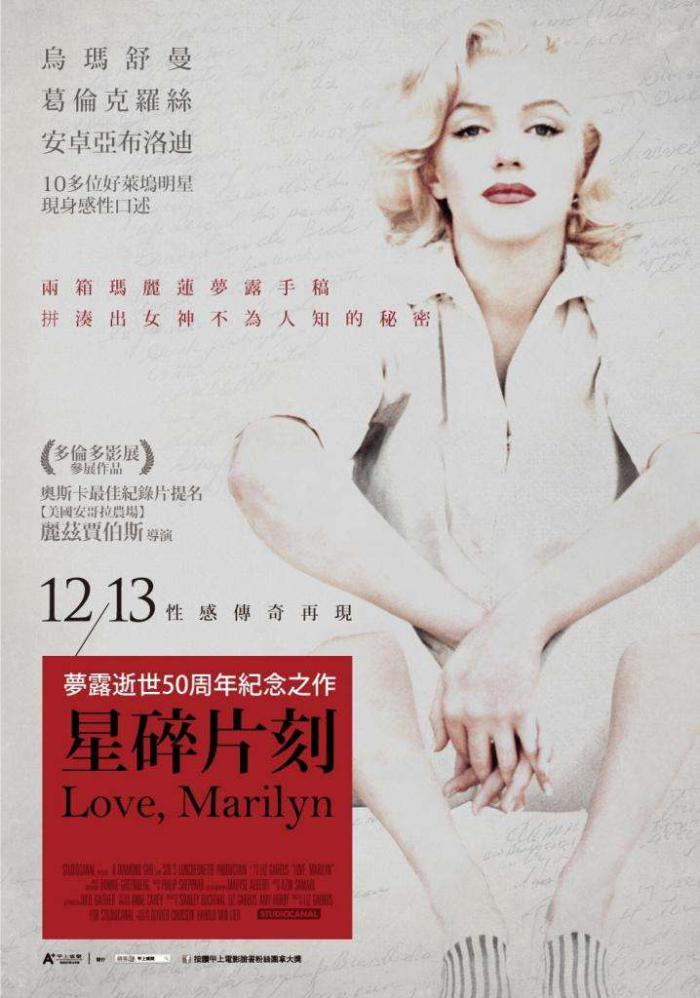 星碎片刻_Love, Marilyn_電影海報