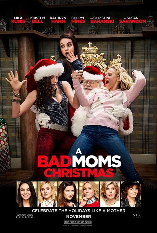 阿姐響叮噹_A Bad Moms Christmas_電影海報