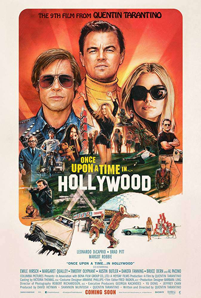 從前,有個好萊塢_Once Upon a Time In Hollywood_電影海報