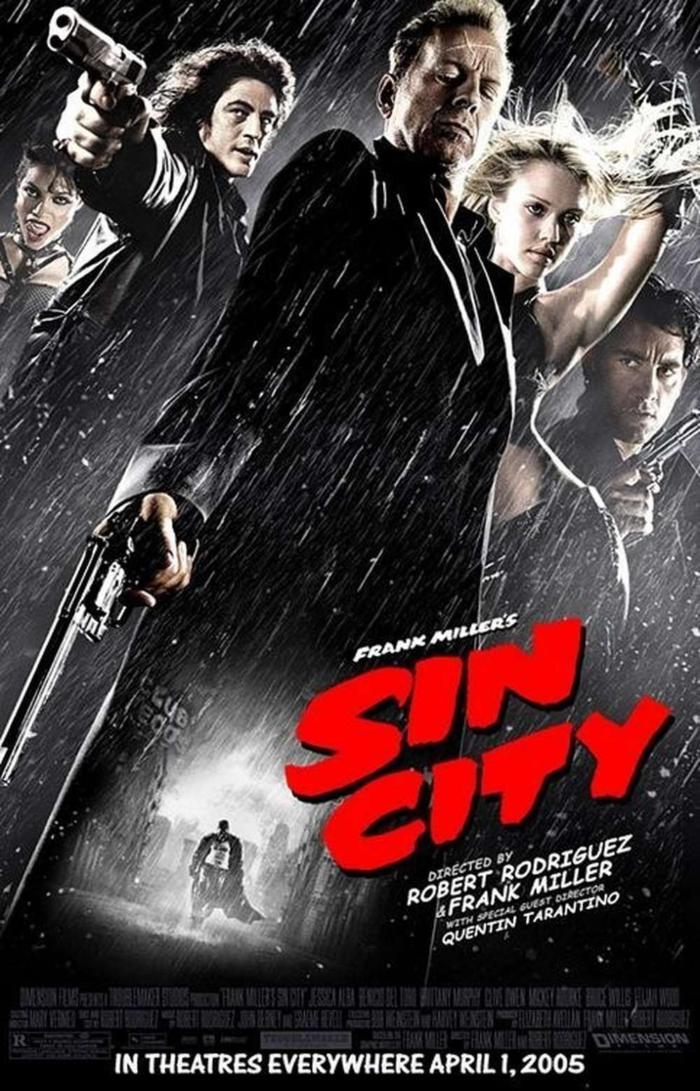 萬惡城市_Sin City_電影海報
