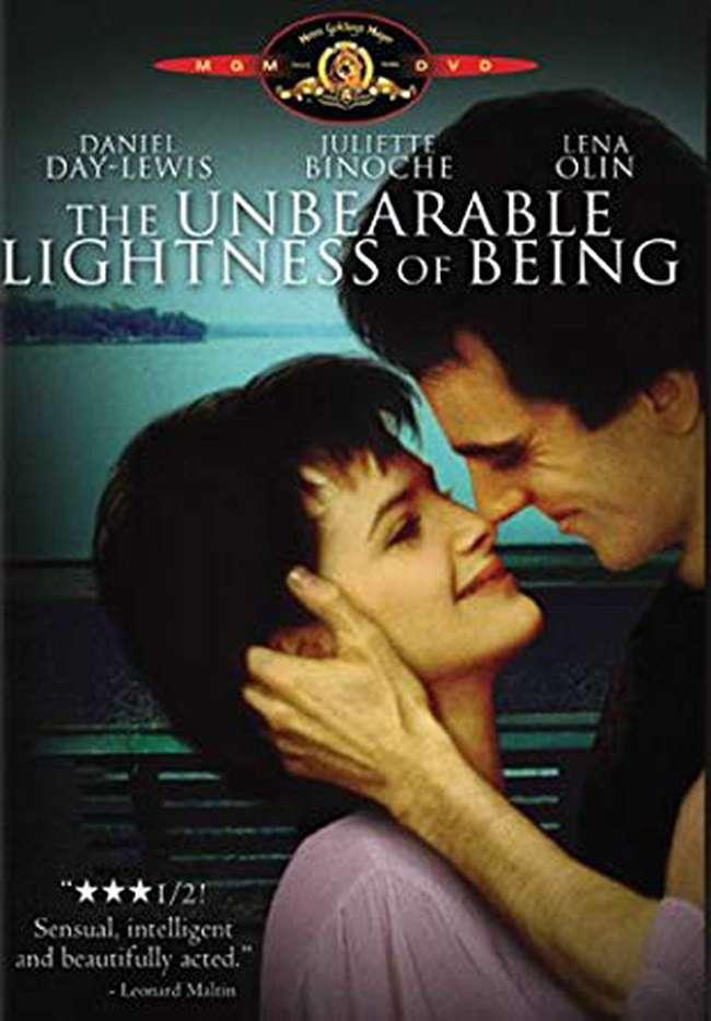 布拉格的春天_The Unbearable Lightness of Being_電影海報