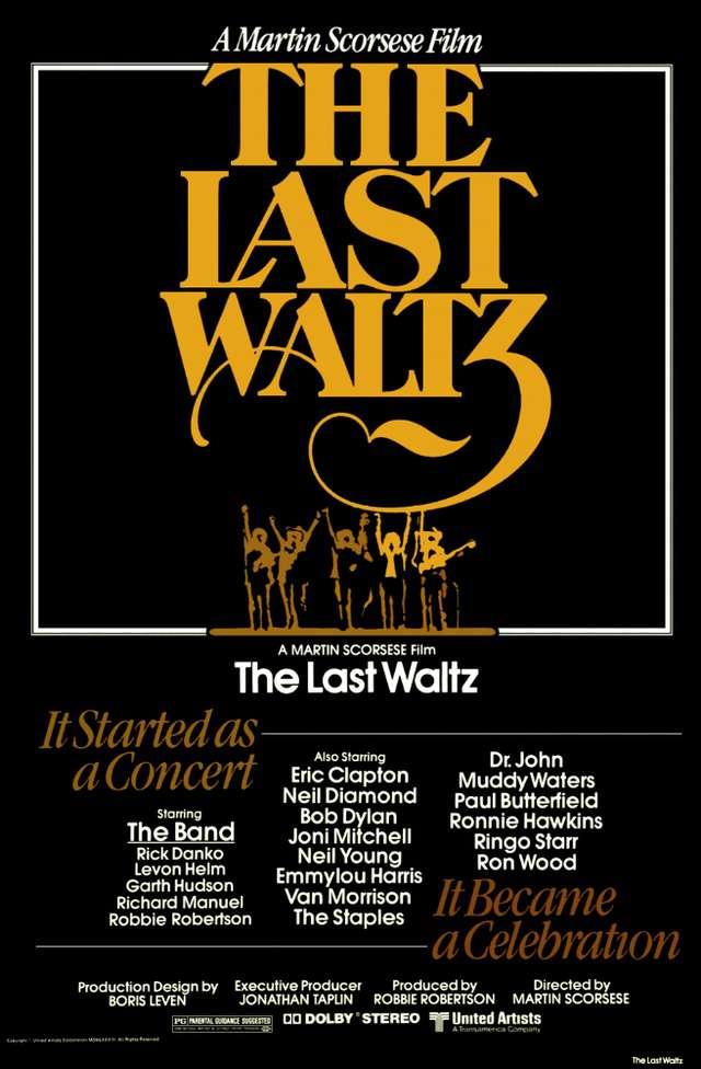 最後的華爾滋_The Last Waltz_電影海報