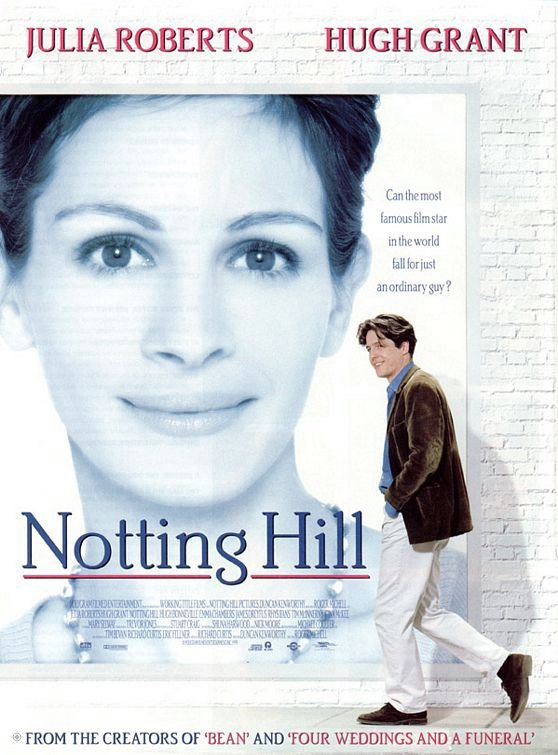 新娘百分百_Notting Hill_電影海報