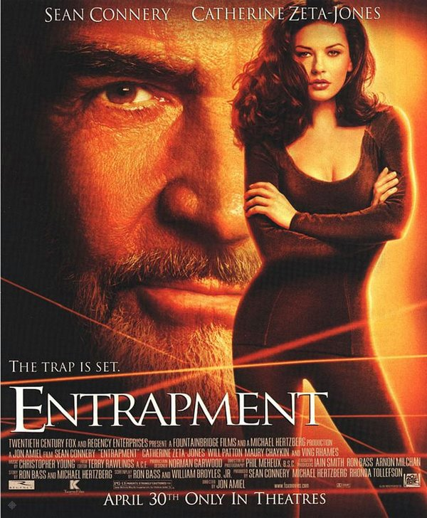 將計就計_Entrapment_電影海報