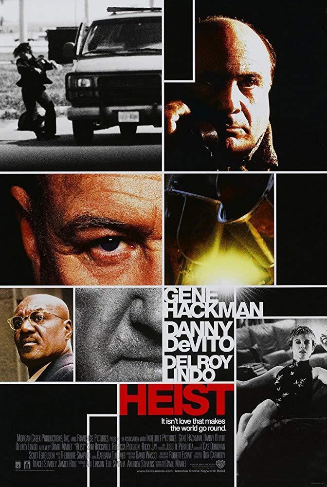 各懷鬼胎_(2001) The Heist (2001)_電影海報