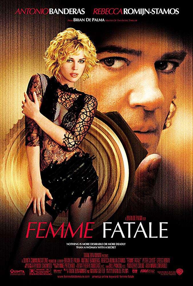 雙面驚悚_Femme Fatale (2002)_電影海報