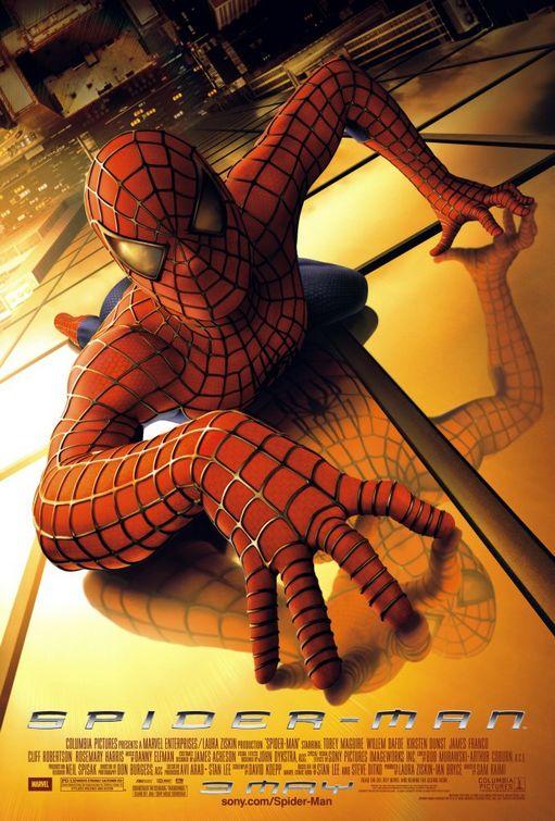 蜘蛛人_Spider-Man_電影海報