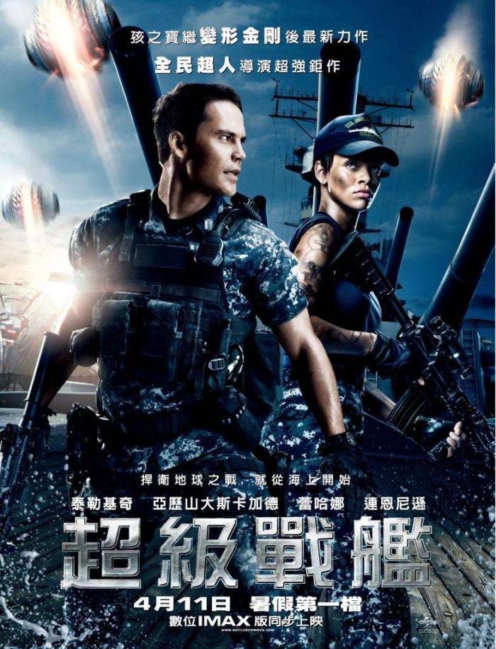 超級戰艦_Battleship_電影海報