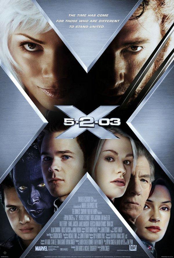 X戰警2_X-Men 2_電影海報