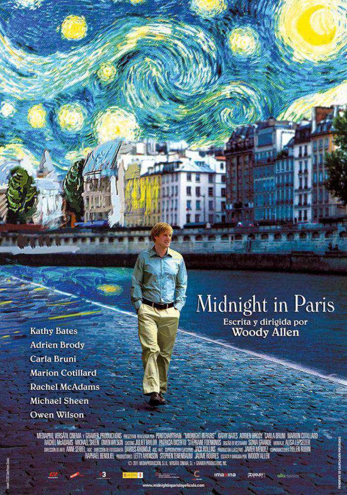 午夜‧巴黎_Midnight in Paris_電影海報