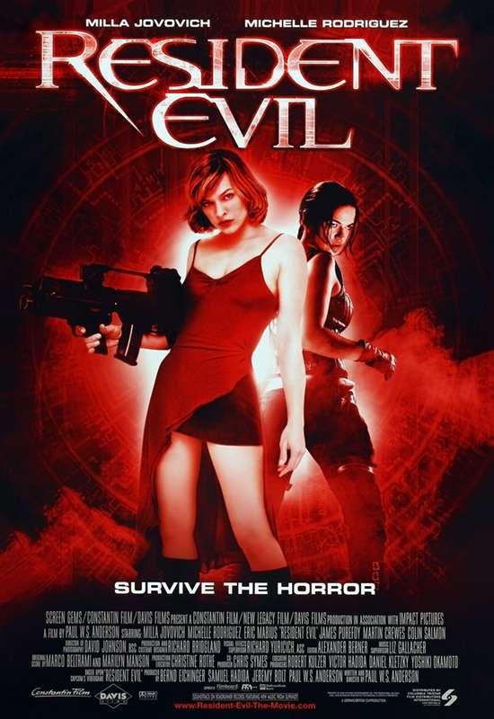 惡靈古堡_Resident Evil_電影海報