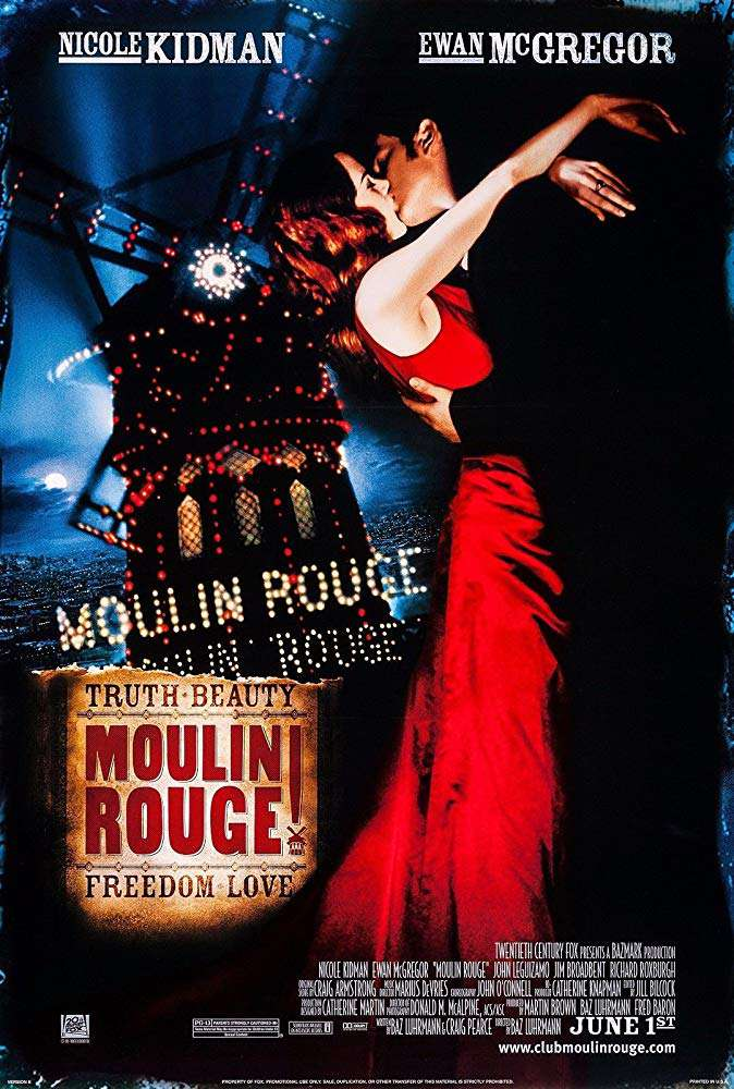 紅磨坊_Moulin Rouge_電影海報