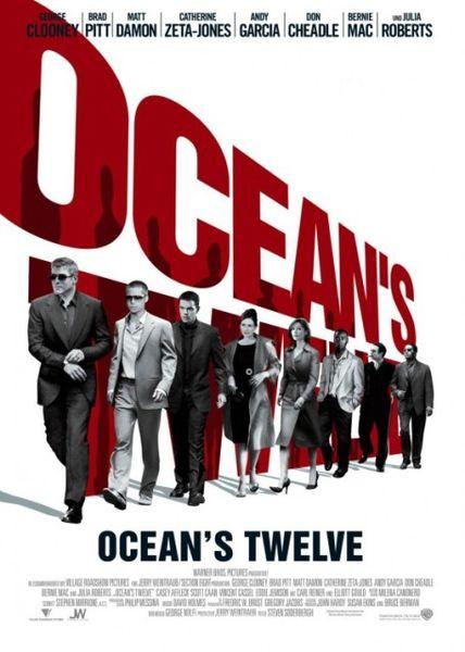 瞞天過海2: 長驅直入_Ocean's Twelve_電影海報