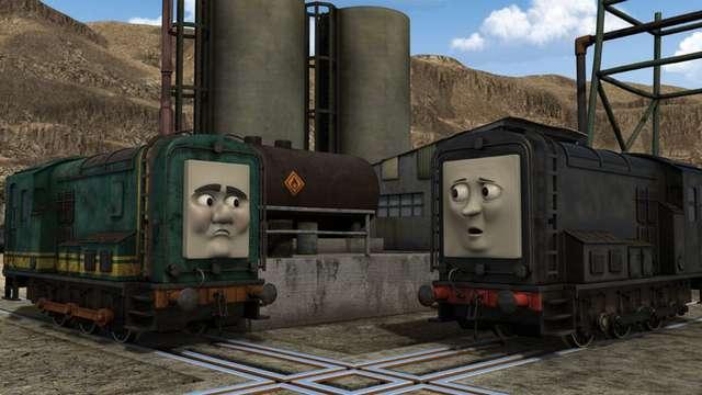 湯瑪士小火車電影版 藍山礦場的祕密_湯瑪士小火車電影版  藍山礦場的祕密 Thomas & Friends:Blue Mountain Mystery_電影劇照
