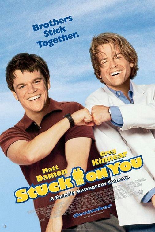 當我們黏在一起_Stuck On You_電影海報