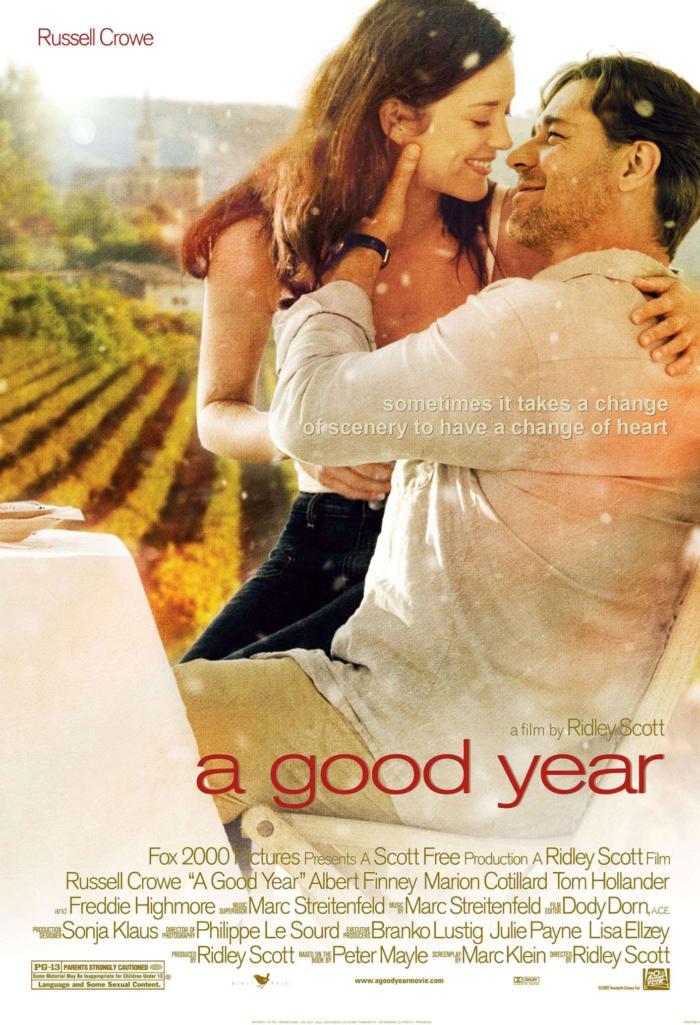 美好的一年_A Good Year_電影海報