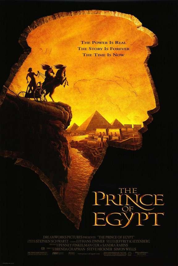 埃及王子_The Prince of Egypt_電影海報