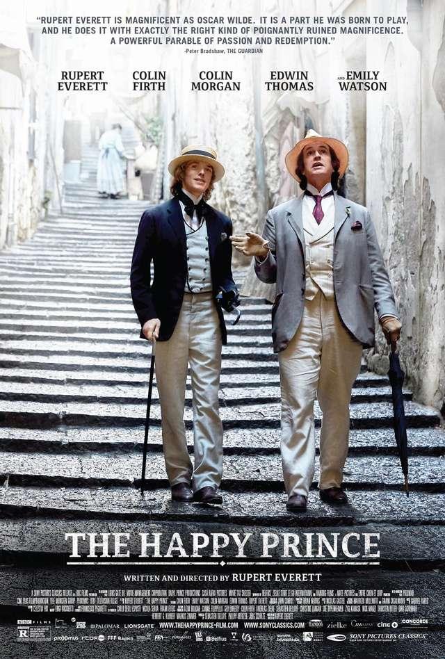 快樂王子:王爾德_The Happy Prince_電影海報