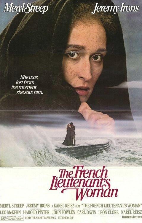 法國中尉的女人_The Frecnch Lieutenant's Woman_電影海報