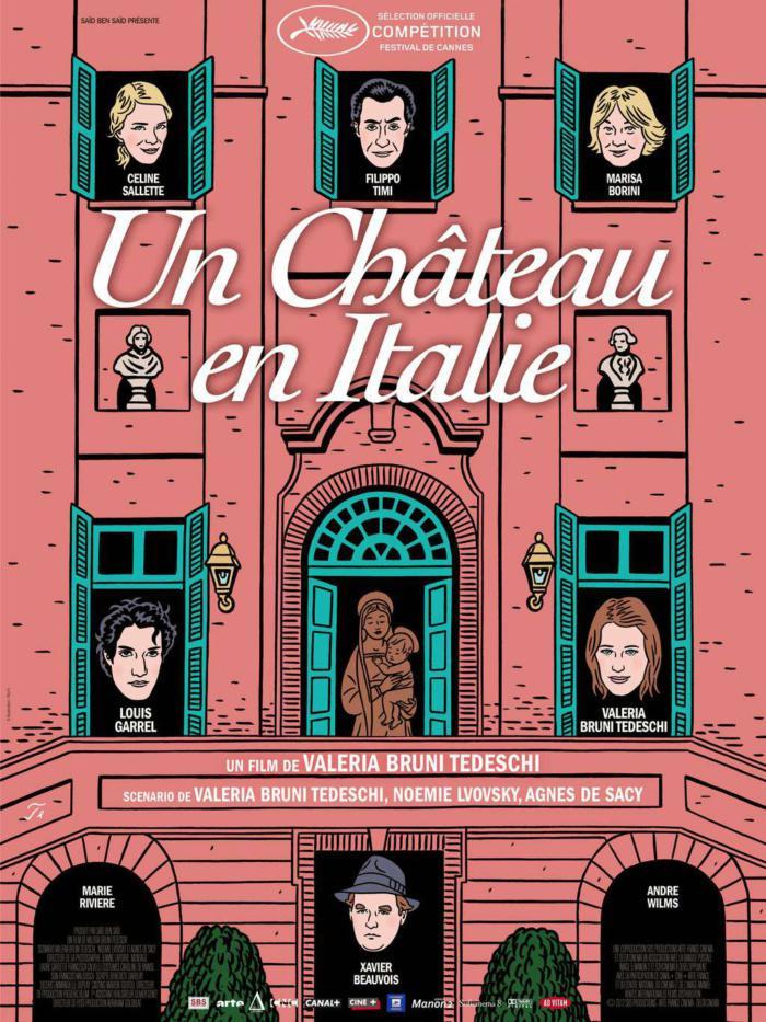 我曾擁有那座城堡_Un château en Italie_電影海報